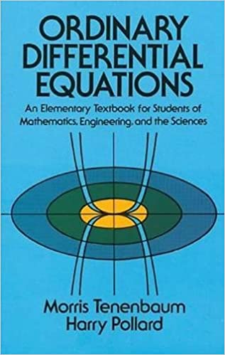 applications of ordinary differential equations pdf
