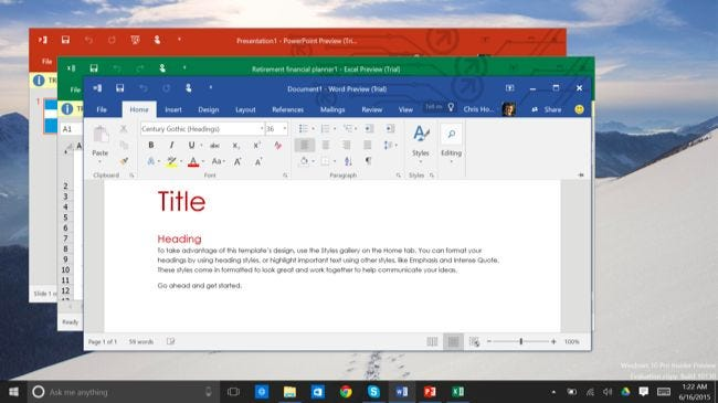 free word application for windows 7