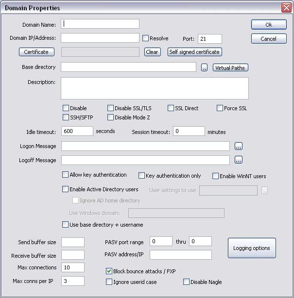 ftp application for windows 7