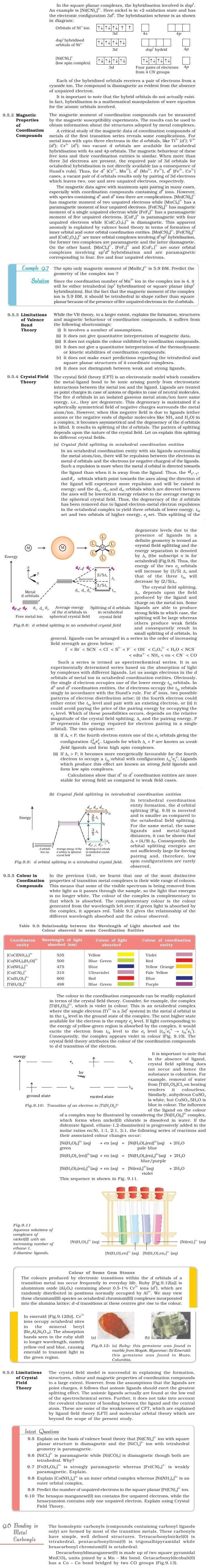 application of coordination compounds in daily life