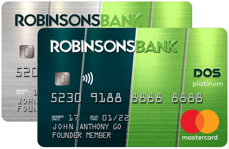 robinsons bank credit card online application