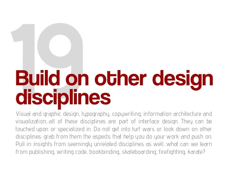 user interface design principles for web applications
