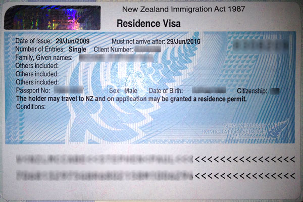 new zealand application for permanent residence