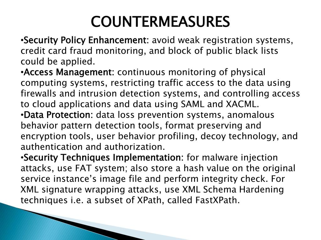 web application security threats and countermeasures