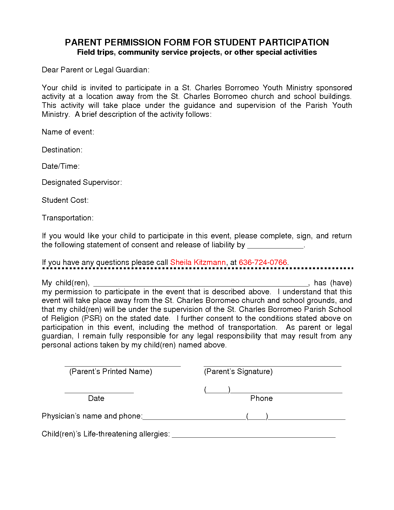 how to fill out a passport application for a minor