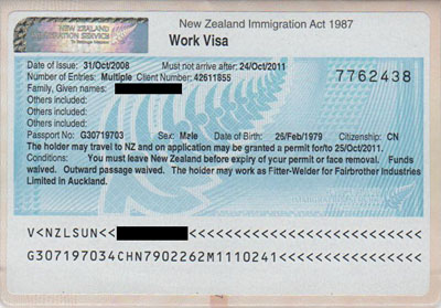 documents required for work permit application singapore