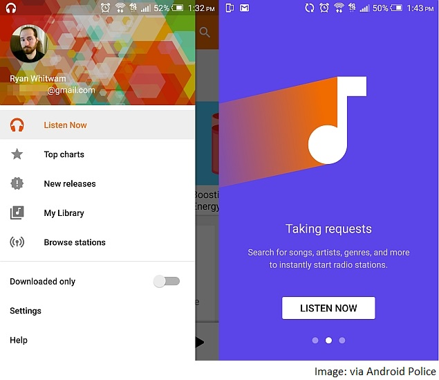 free music application for android
