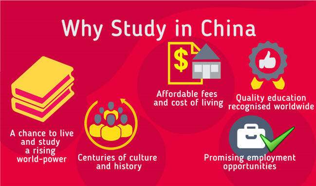 universities in china without application fee
