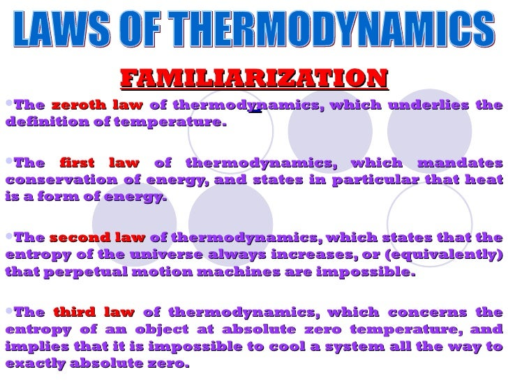 application of thermodynamics in physics