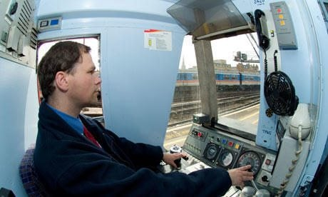 london underground train driver application form