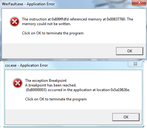 searchprotocolhost exe application error windows 10