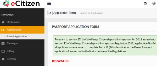 application form for visa subclass 600