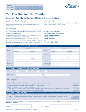 student tax file number application form