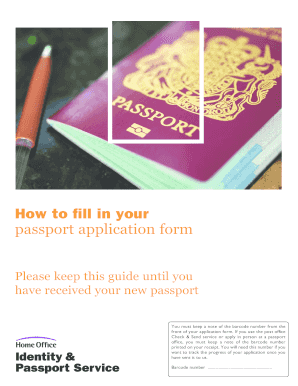 where to get passport application forms post office