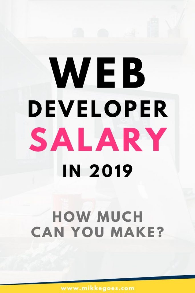 senior web application developer salary
