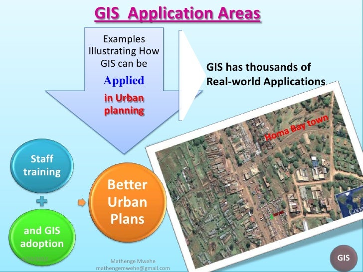 application of gis in urban planning pdf
