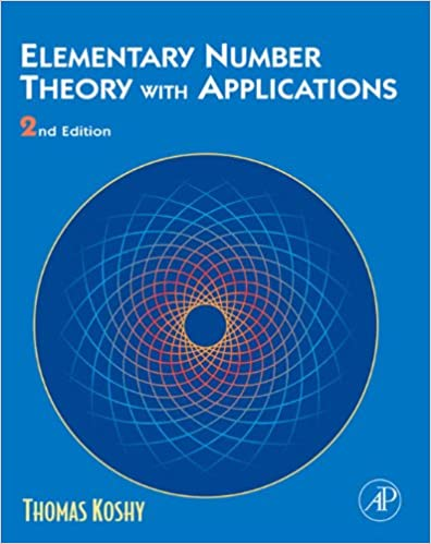 elementary number theory with applications by thomas koshy pdf