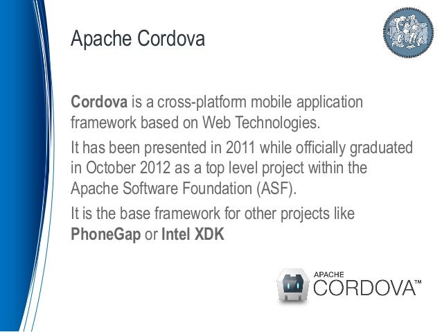 cross platform application development framework