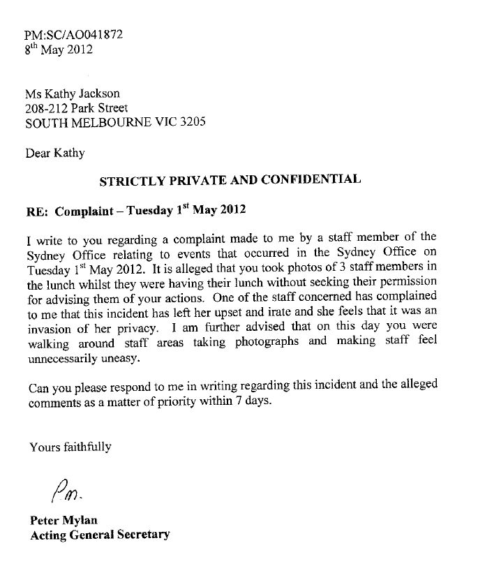 sample follow up letter after application