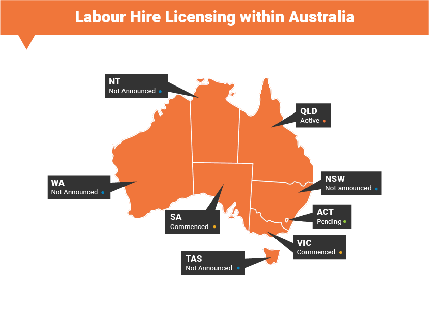 labour hire licensing queensland application