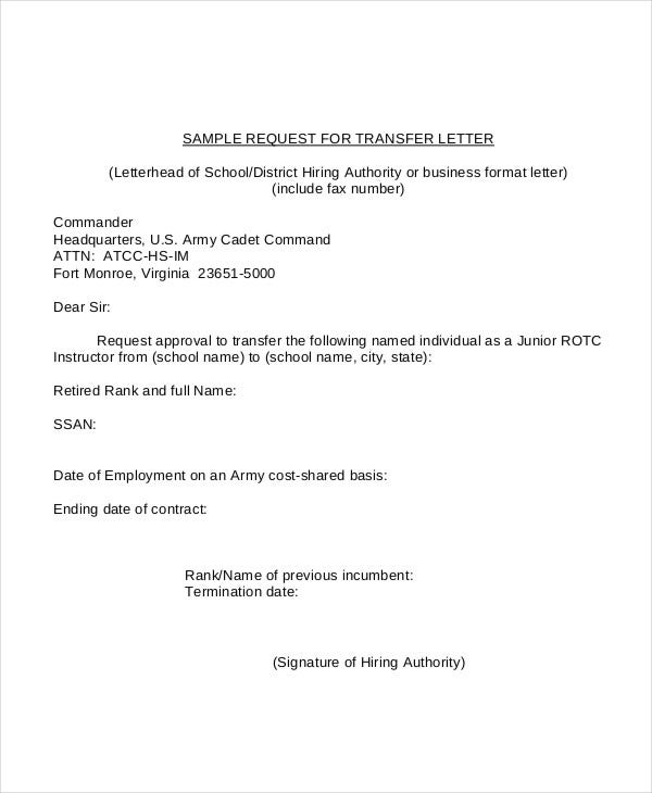 sample application letter for cadetship