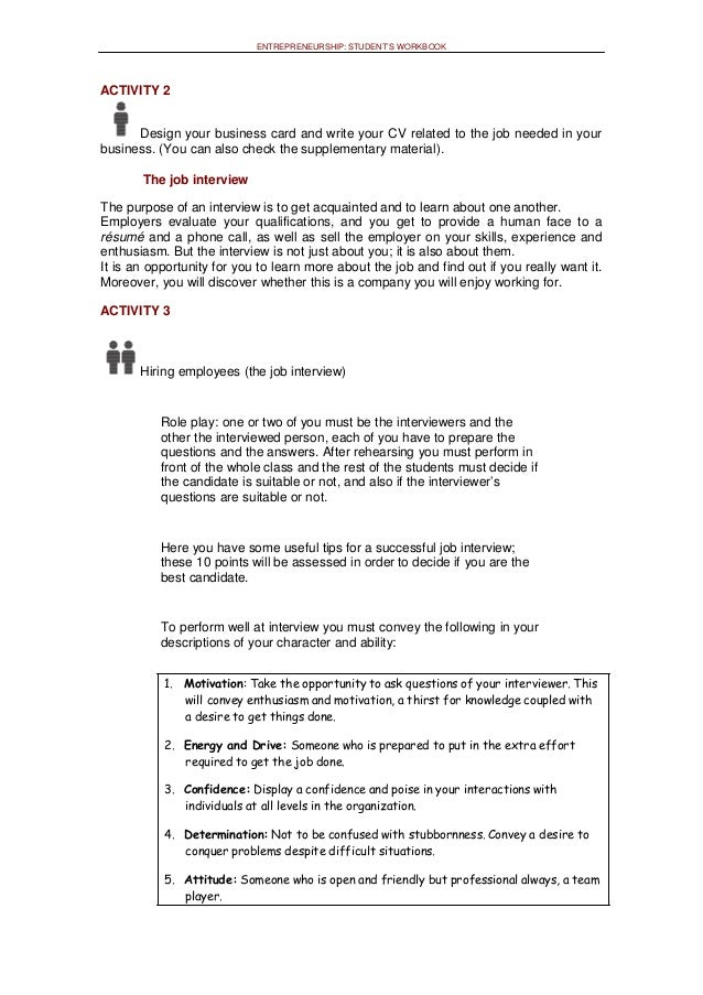 examples of supplementary comments on job application
