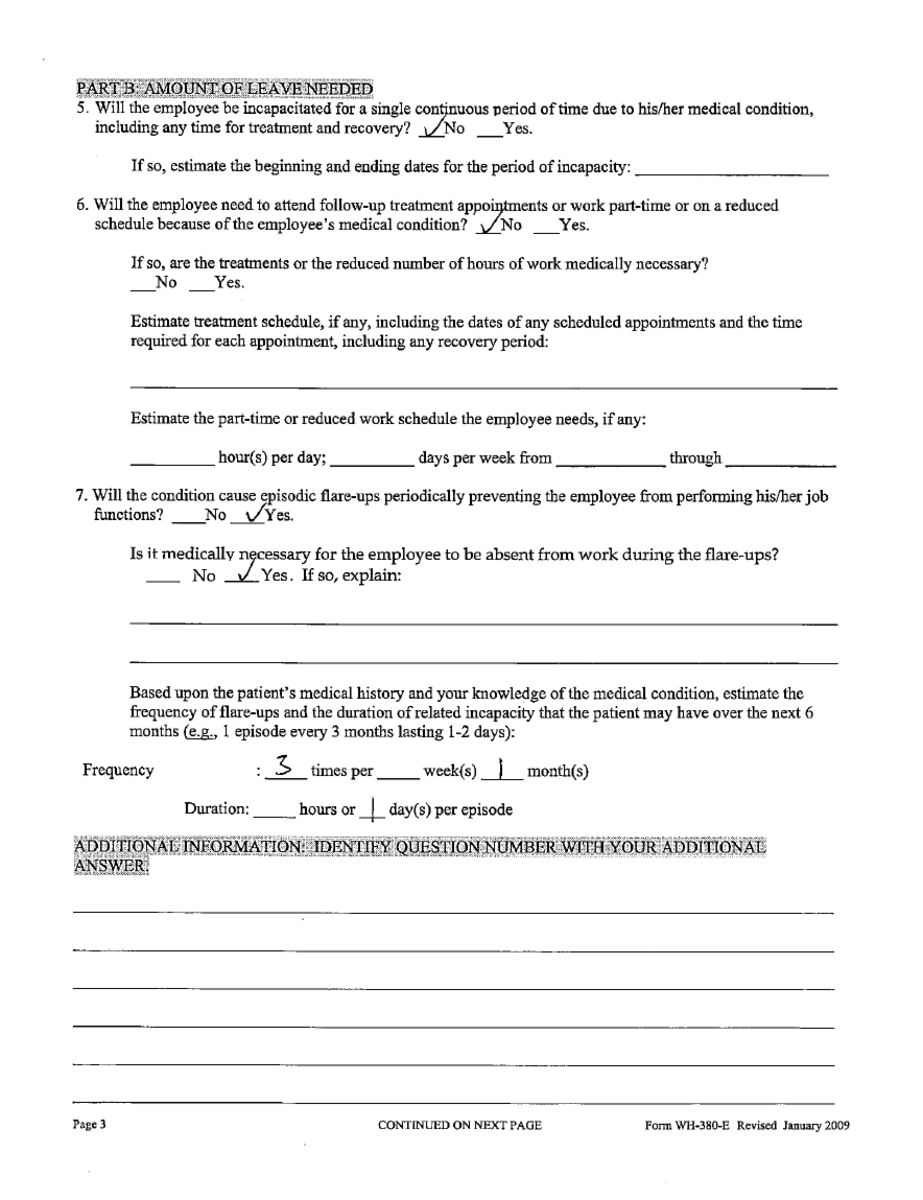 leave application due to mother illness