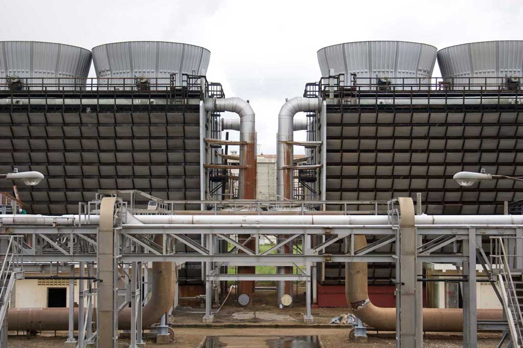 application of cooling tower in industry