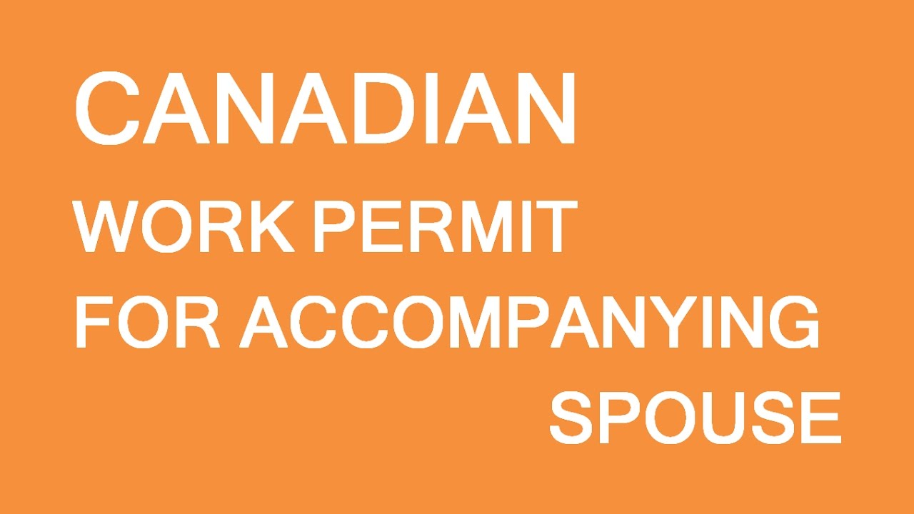 application to work in canada