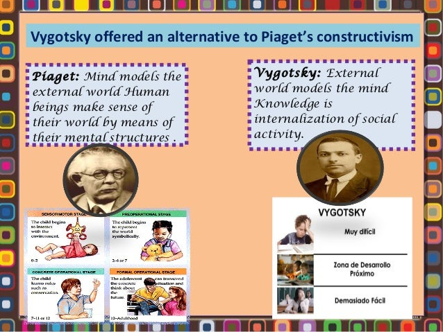 piaget and vygotsky similarities of the classroom applications