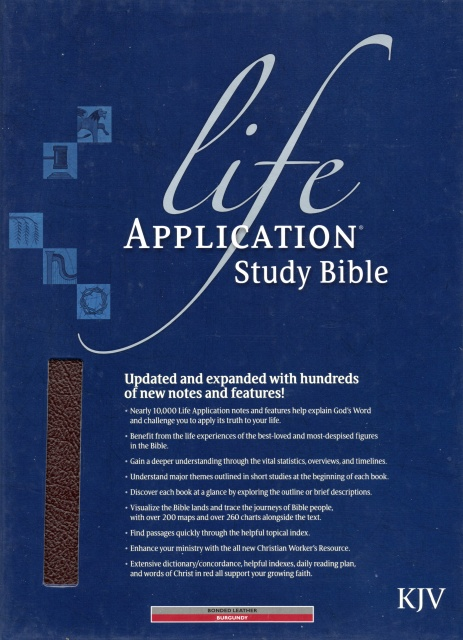 chronological life application study bible nkjv