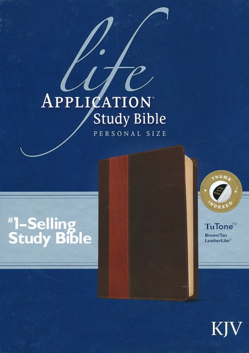 life application study bible personal size