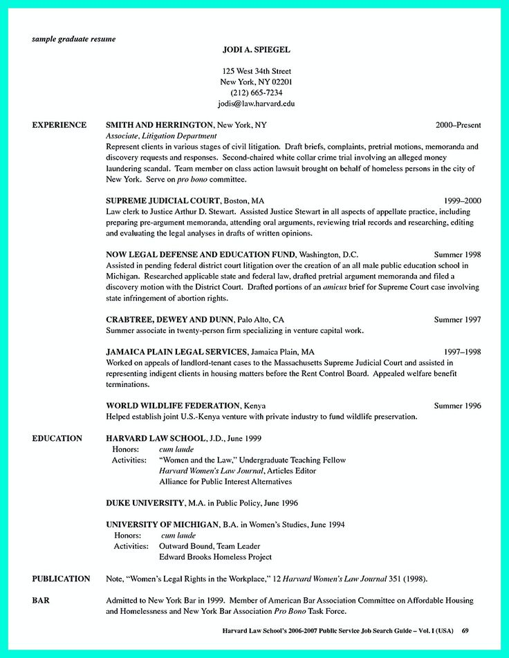 sample student resume for college application