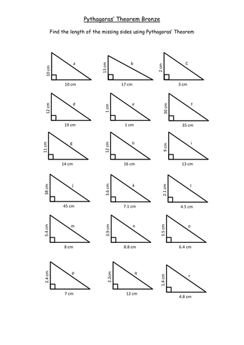 application of pythagoras theorem in different fields