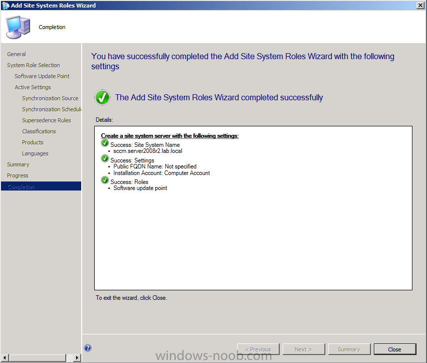 sccm application catalog cannot connect to the application server