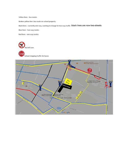 application for school bus route change