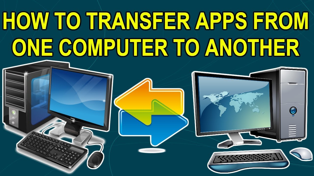 transfer applications to new pc