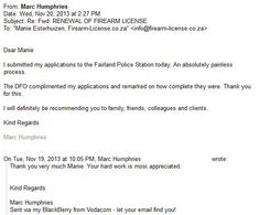 reference letter for firearm application