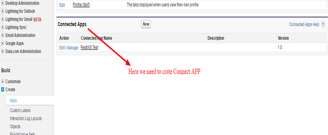 how to test salesforce application