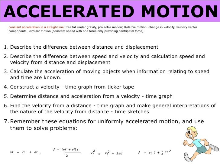 application of kinematics in daily life