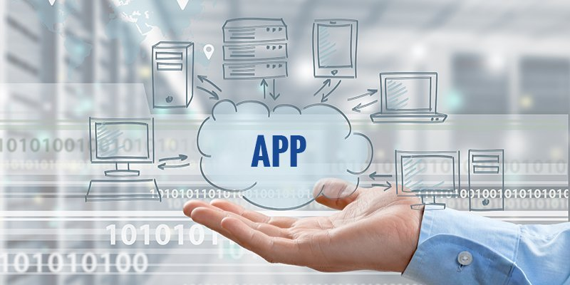 how cloud based applications work