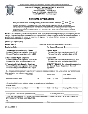 security licence application form vic
