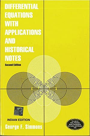 gf simmons differential equations with applications and historical notes