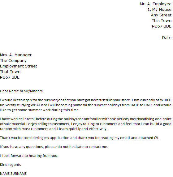 follow up email internal job application