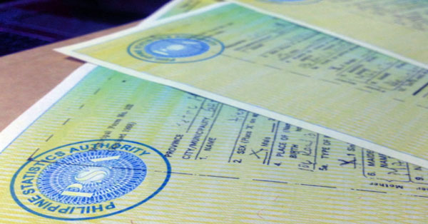 nso birth certificate online application