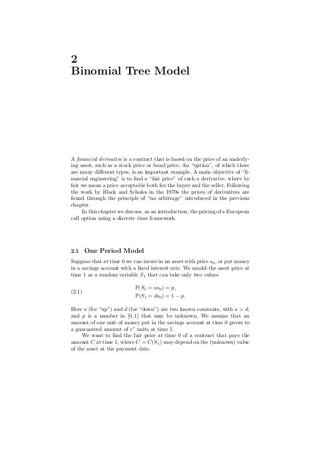 application of stochastic process in finance