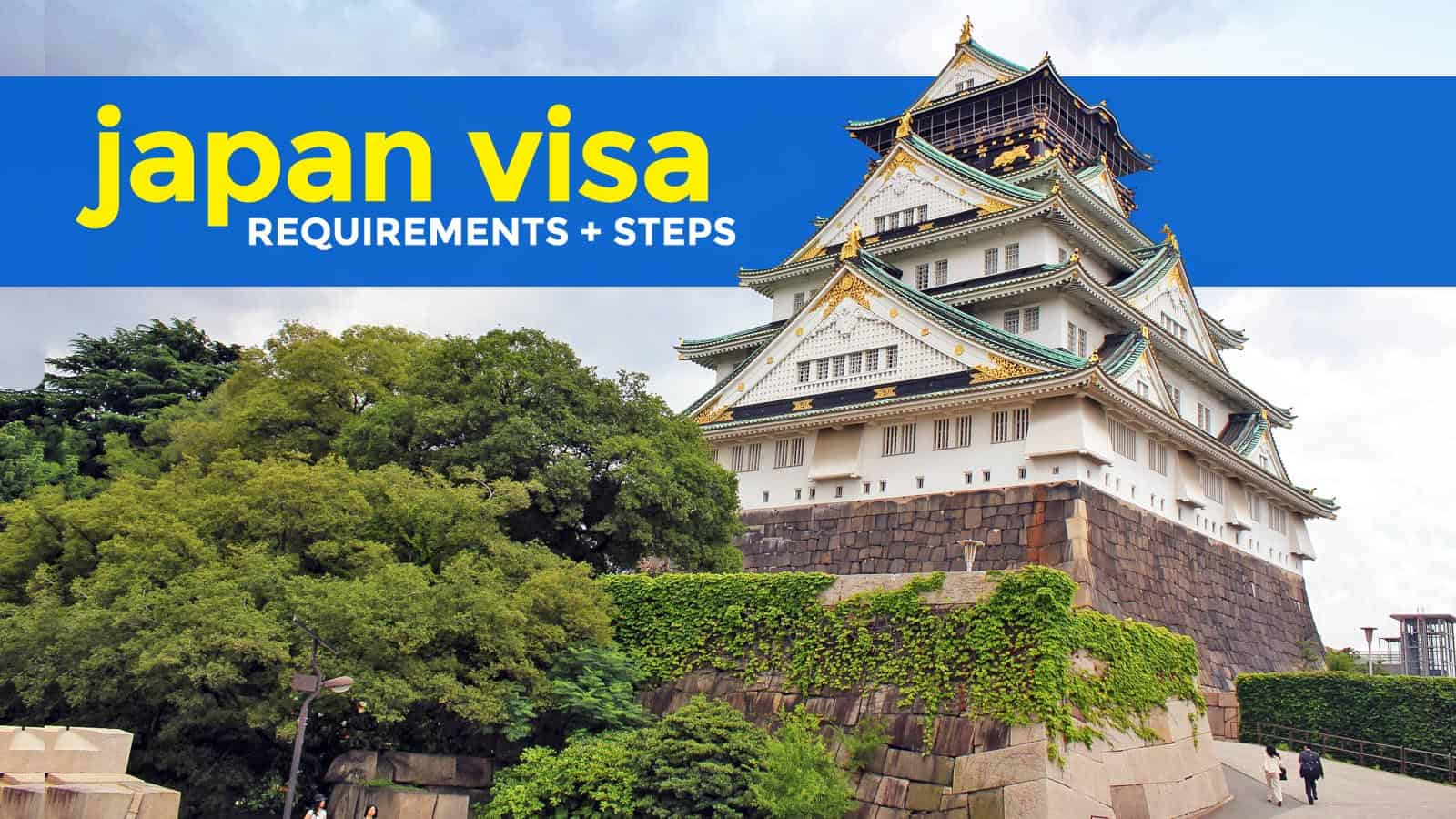 how to fill up japan visa application form philippines