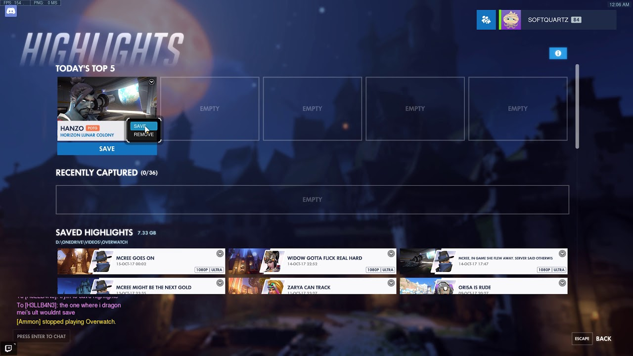overwatch application has stopped working