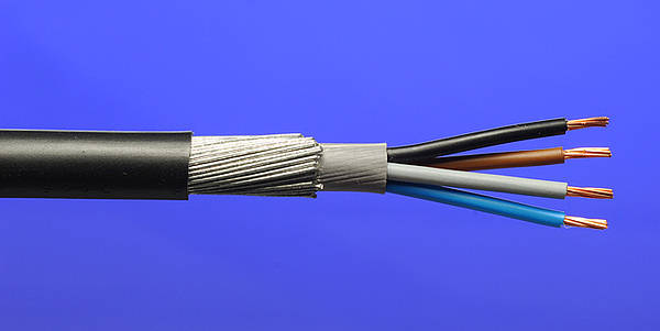 steel wire armoured cable application