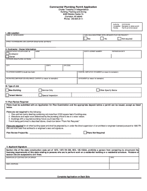 how to fill out a work permit application